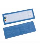 Frange microfibre 40 cm à poches et à languettes