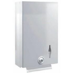 Distributeur essuie-mains en métal