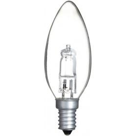 Ampoule éco halogène flamme E14 18W