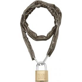 Chaîne 90cm avec cadenas 40mm