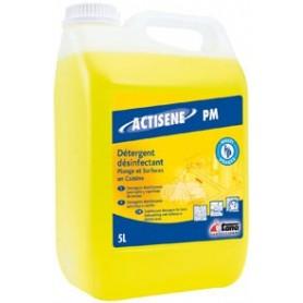 Liquide plonge désinfectant Actisène PM - Bidon de 5 Litres