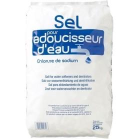 Sel en pastilles pour adoucisseur - sac de 25kg