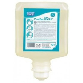 Savon desinfectant Deb PureBac Foam Wash - Carton 6 x 1000 ml