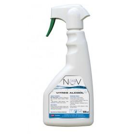 Nettoyant vitres à Nov à l'alcool - Flacon 500ml
