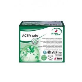 Lessive linge Green Care Activ Tabs - Carton de 56 Tablettes