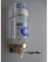 Support mural pour gel hydroalcoolique 1L