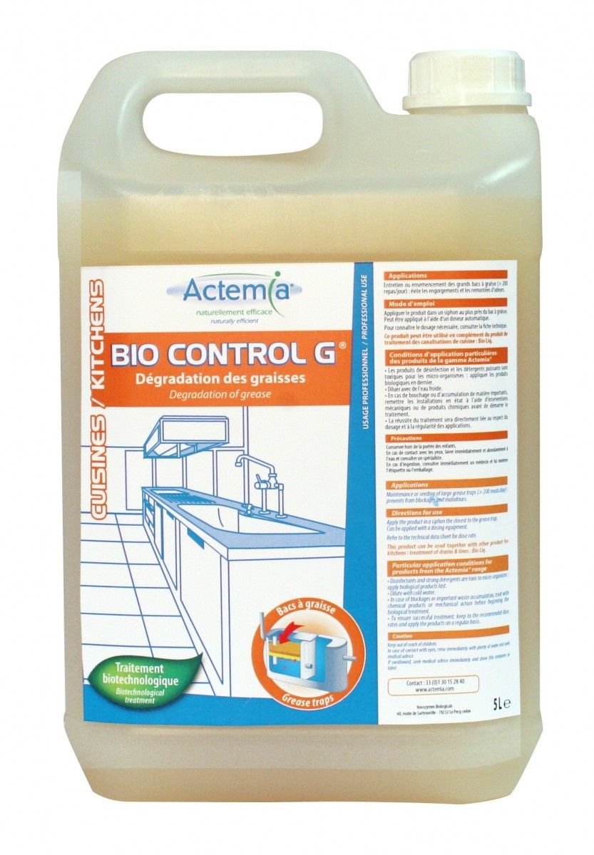 Simple Affordable Bio Control G Entretien Des Grands Bacs Graisse Bidon De  L Halvea With Bac Graisse With Bac Dgraisseur Cuisine.