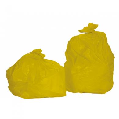 sac poubelle 100 litres standard jaune colis de 200. Black Bedroom Furniture Sets. Home Design Ideas