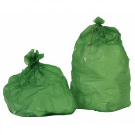 Sac poubelle 100 Litres Standard Vert - Colis de 200