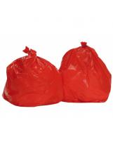Sac poubelle 100 Litres Standard Rouge - Colis de 200