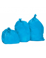 Sac poubelle 110 Litres Standard Bleu - Colis de 200