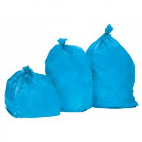 Sac poubelle 130 Litres Standard Bleu - Colis de 200
