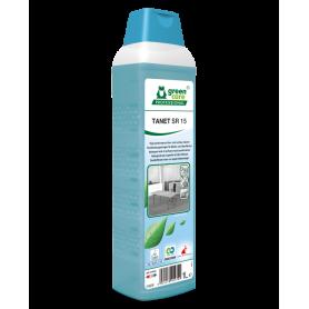 Tanet SR15, nettoyant écologique sols et surfaces à base d'alcool - Flacon de 1 Litre