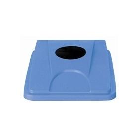Couvercle bleu pour collecteur JVD 60 et 80 L