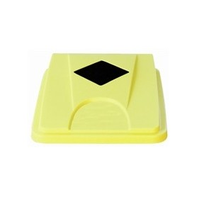 Couvercle jaune pour collecteur JVD 60 et 80 L