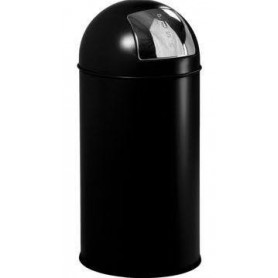 Collecteur PUSH 40L noir JVD
