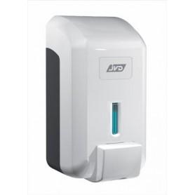 Distributeur savon mousse vrac 700 ml blanc en ABS