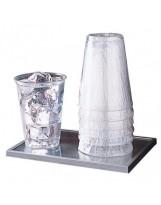 Gobelet transparent 275ml sous emballage individuel - Colis de 1000