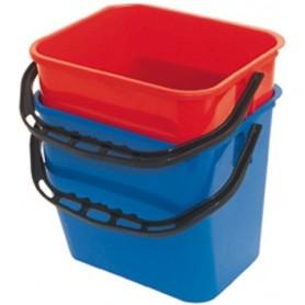 Seau 12 litres bleu
