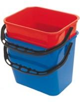 Seau 12 litres rouge