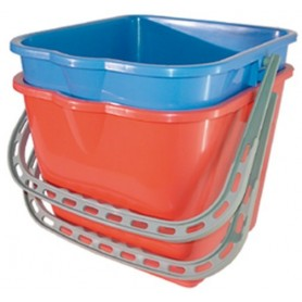 Seau 25 litres rouge