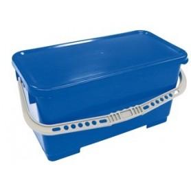 Seau 22 litres bleu sans couvercle