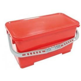 Couvercle rouge pour seau 22 litres