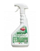 Déo'Cid, Nettoyant sur-odorant Multi-surfaces et Sanitaire - Flacon de 750ml