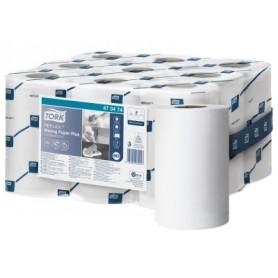 Tork Reflex Papier d'essuyage Plus Bobine Mini à Dévidage Central - Colis de 9 bobines
