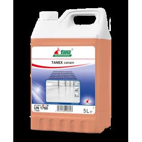 TANEX ceram, détergent alcalin puissant pour la rénovation et l'entretien des carrelages - Bidon de 5 Litres
