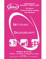 2D - Détergent Parfum Floral - 250 doses de 20ml