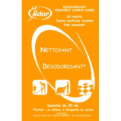 2D - Détergent Parfum Pamplemousse - 250 doses de 20ml