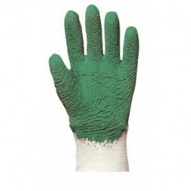 Gants de jardin vert sur jersey - La paire