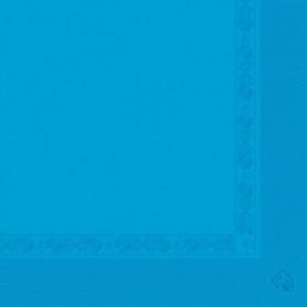 Serviettes 2 plis Turquoise 40x40cm - Colis de 1600
