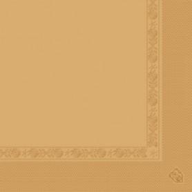 Serviettes 2 plis Caramel 40x40cm - Colis de 1600