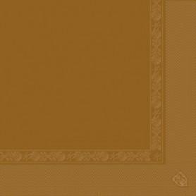 Serviettes 2 plis Havane 40x40cm - Colis de 1600