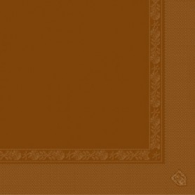 Serviettes 2 plis Chocolat 40x40cm - Colis de 1600