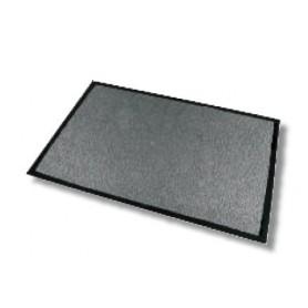 Tapis anti-poussière absorbant gris 90x150 cm