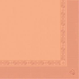 Serviettes 2 plis Saumon 40x40cm - Colis de 1600