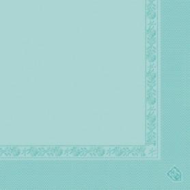 Serviettes 2 plis Vert eau 40x40cm - Colis de 1600