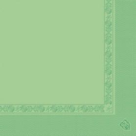 Serviettes 2 plis Vert anis 40x40cm - Colis de 1600