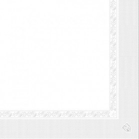 "Serviettes 1pli ""I-ONE"" 40x40cm - Colis 1600"
