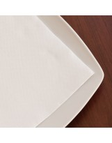 Serviettes Double Point Blanches 33x33cm - Colis de 1200