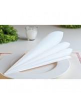 Serviettes Soft Blanches 45x45cm 60 g/m² - Colis de 700