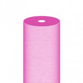 "Nappe Airlaid Texture ""Fil"" Fushia - Rouleau de 1,2x50m"