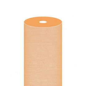 """Nappe Airlaid Texture """"Fil"""" Mandarine - Rouleau de 1,2x50m"""