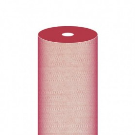 """Nappe Airlaid Texture """"Fil"""" Bordeaux - Rouleau de 1,2x50m"""