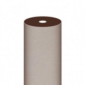 """Nappe Airlaid Texture """"Fil"""" Chocolat - Rouleau de 1,2x50m"""