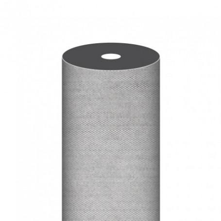 """Nappe Airlaid Texture """"Fil"""" Graphite - Rouleau de 1,2x50m"""