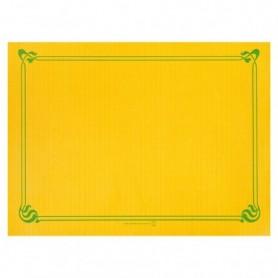 """Sets de Table """"Snack"""" Jaune soleil 30x40cm - Colis de 2000"""